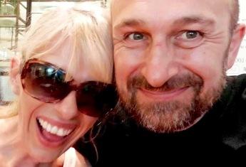 Mat Ricardo and Presenter Sadie Kaye - As Bad As It Gets