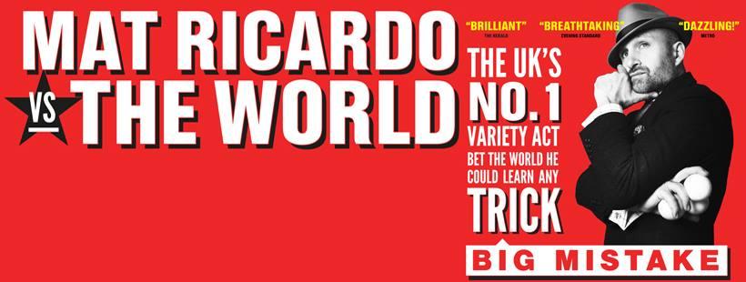 Mat Ricardo's Big Mistake Tour