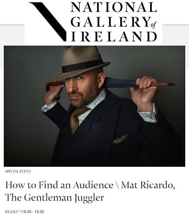 Mat Ricardo National Gallery, Dublin