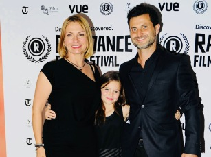 Ambassadors Simone Lahbib, Raffaello DeGruttola and daughter Skye