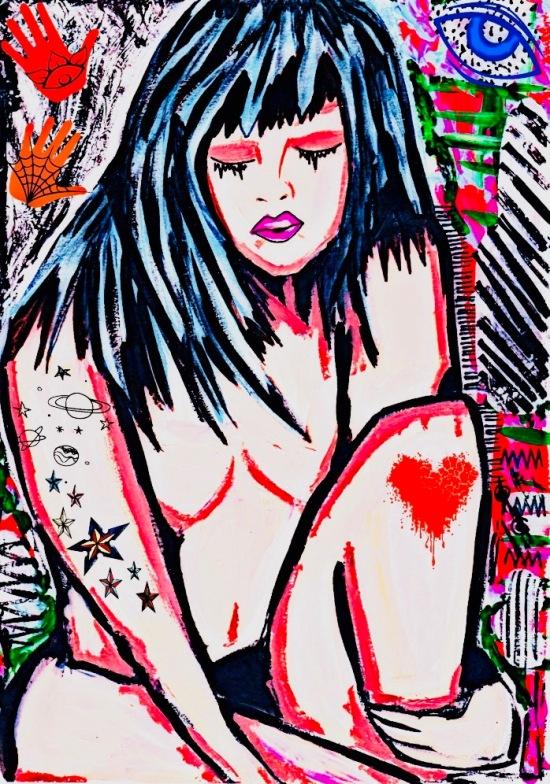 Art to End Rape - Charlotte Farhan
