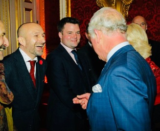 Ambassador Mat Ricardo @ Royal Variety Performance
